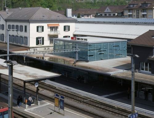 Kubus Bahnhof Olten