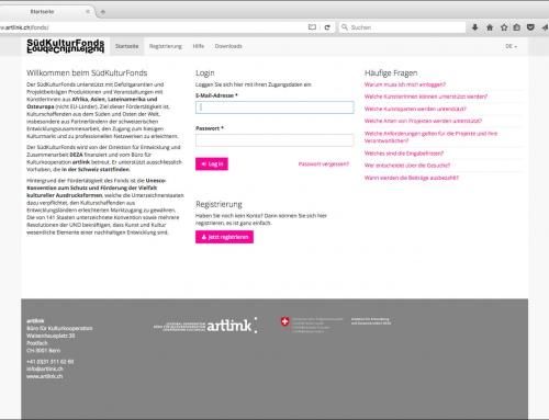 SüdKulturFonds-Portal